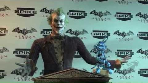 VGA 2011 Best Character Winner The Joker Arkham City