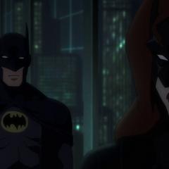 Batwoman cuenta su pasado.