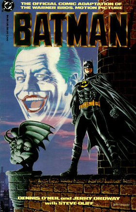 BatmanMovie1989ComicAdaptation