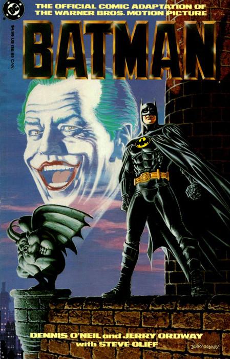 Book Cover Series Wiki ~ Batman movie comic adaptation wiki