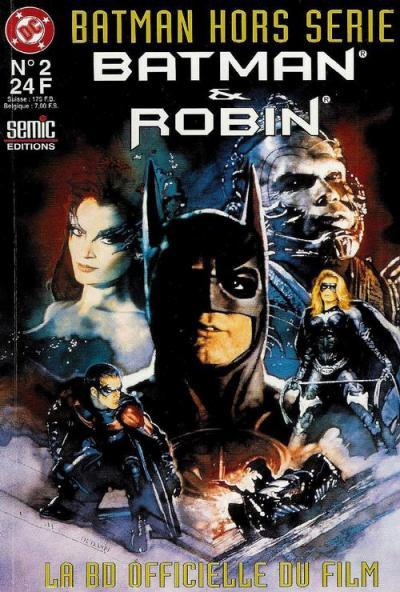 Batman et robin la bd officielle du film wiki batman - Image de batman et robin ...