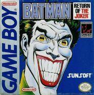 Batman - Return of the Joker Game Boy