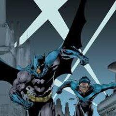 Batman z Nightwingiem