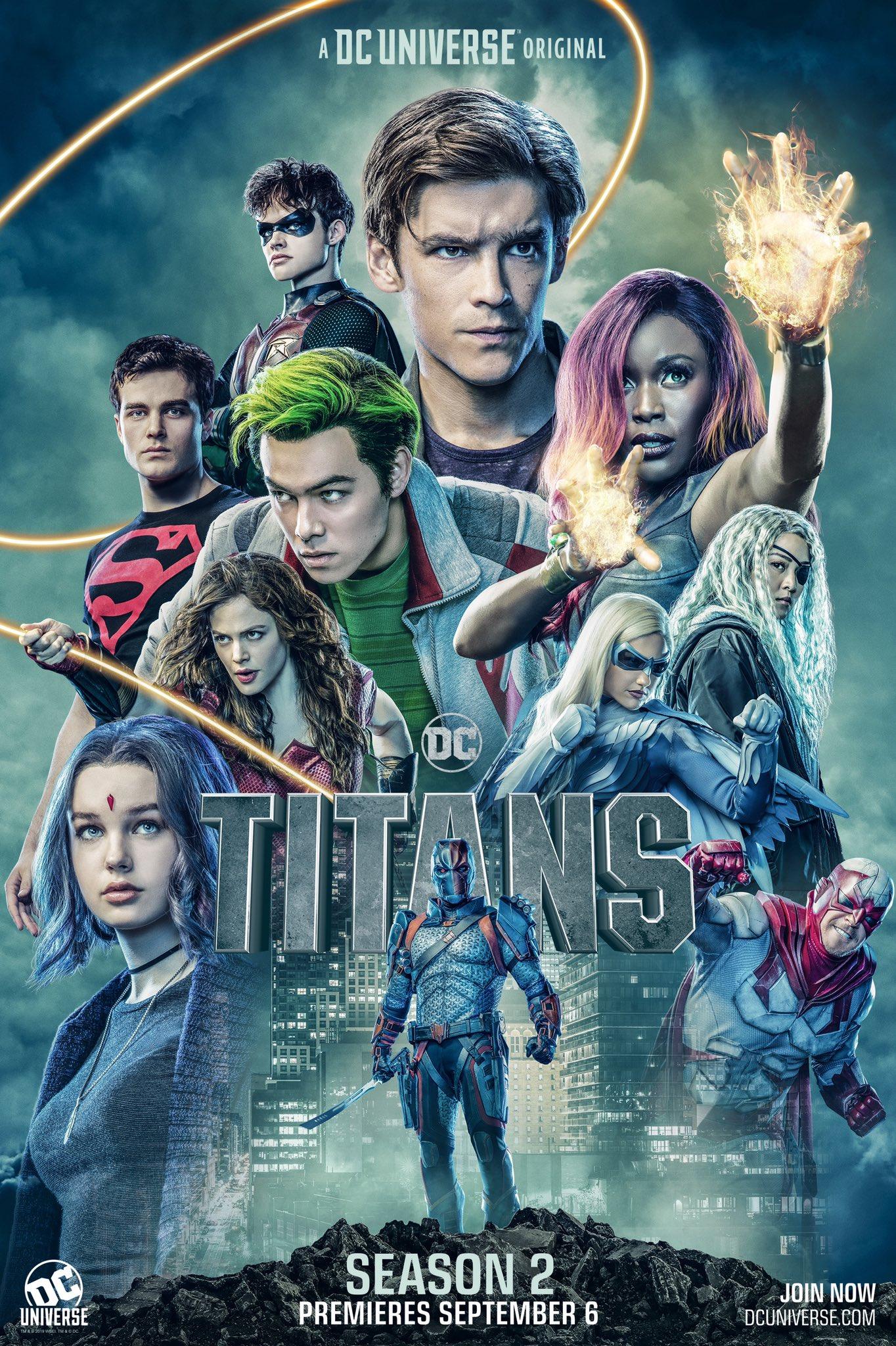 Titanes temporada 2