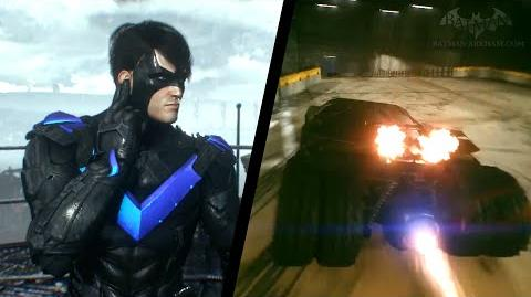 Batman Arkham Insider 8 - GCPD Lockdown & Batmobile Tumbler