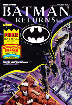 Batman Returns Ralston cereal