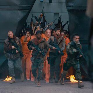 Los prisioneros son liberados.