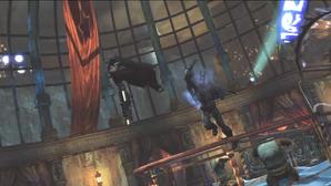 Batman hit penguin