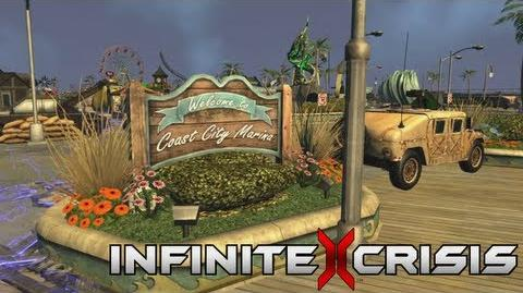 Infinite Crisis Official Coast City Trailer