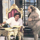 Batman Returns - Burton and DeVito