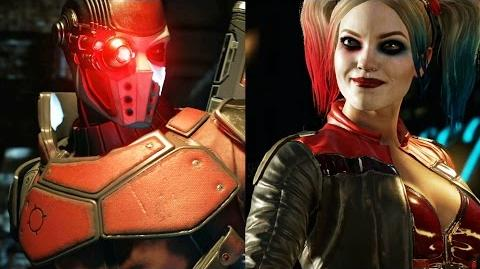 Injustice 2 – Trailer Harley y Deadshot