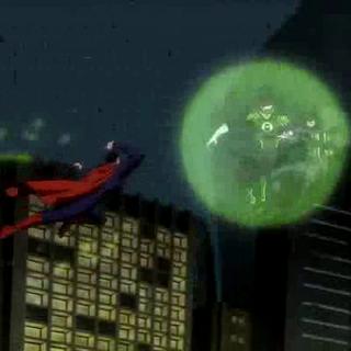 Superman ataca a los héroes.