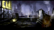 2-The Rooftops of Arkham City