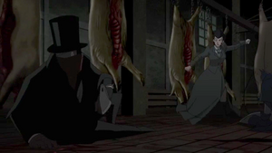Batman y Selina se enfrentan al Destripator