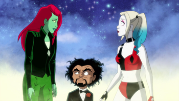 Harley Quinn - Harley descubre que Hiedra es novia de Kite-Man
