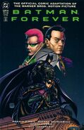 Batman Forever Comic Book Cover 2