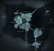 Gotham Map Arkhamverse
