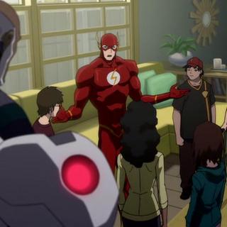 Barry trata de mantener a todos unidos