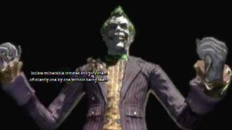 Batman Arkham Asylum - Game Over Joker