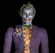 The Joker Arkham City Game Over