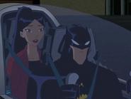 Yin and batman in batboat