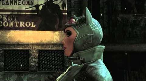 Batman Arkham Asylum - Catwoman Trailer