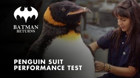 Batman Returns - Penguin Suit Performance Test