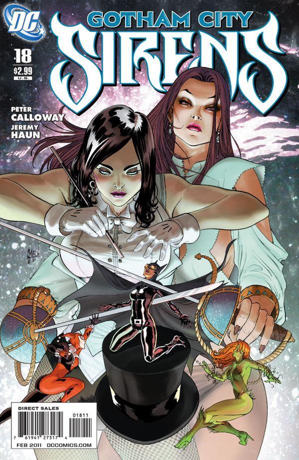 Gotham City Sirens Issue 18 Batman Wiki Fandom