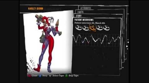 Batman Arkham Asylum - Harley Quinn interview