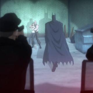 Batman frente a Zsasz