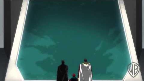 Justice League Throne of Atlantis - La gente va a morir.