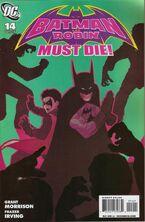 Batman and Robin-14 Cover-2