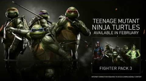 Injustice 2 - Tortugas Ninja