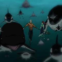 El Océano da pelea.