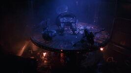 Riddler's destroyed base