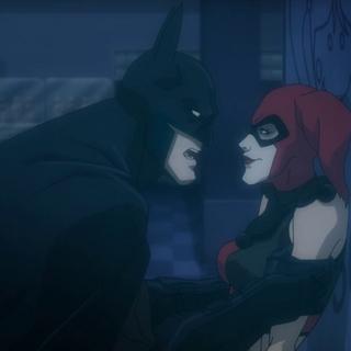 Batman interroga a Harley
