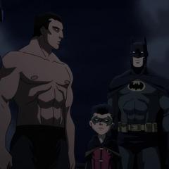 Bruce es rescatado.
