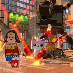 Wonder Woman en acción!