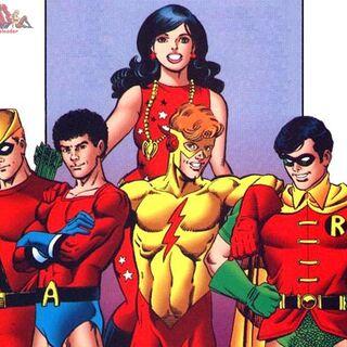 Primer grupo de los Teen Titans