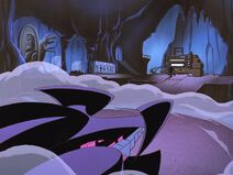Batman Beyond - S01 E03 - Black Out - Batmobile Parking Spot