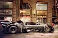 Batmobile pinewood