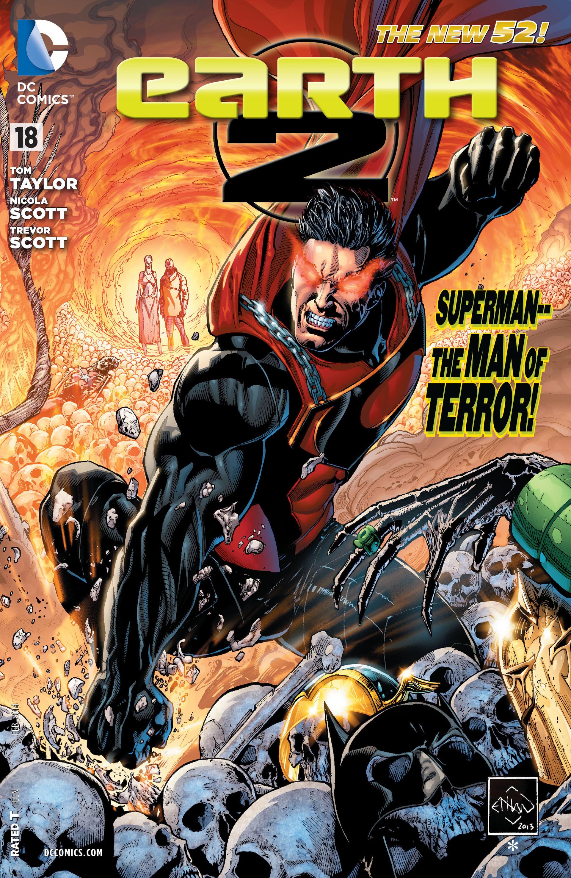 earth 2 volume 1 issue 18 batman wiki fandom powered