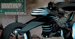 Batcycle New 52
