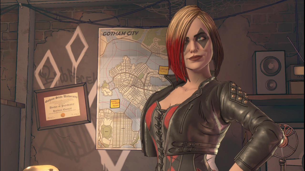 Harley quinn arkham asylum sex scenes 2