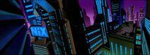 Batman Beyond - S02 E18 - Sneak Peek - City Panorama