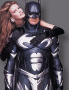 Batman & Robin - Batman and Julie