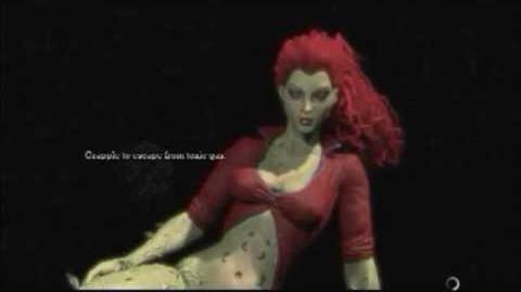 Batman Arkham Asylum Game Over Poison Ivy