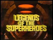 Legends of the Superheroes title