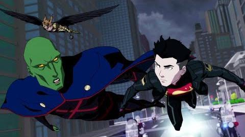 "Reign of the Supermen - Clip ""Liga de la Justicia"""