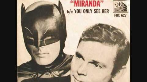 Adam West - Miranda